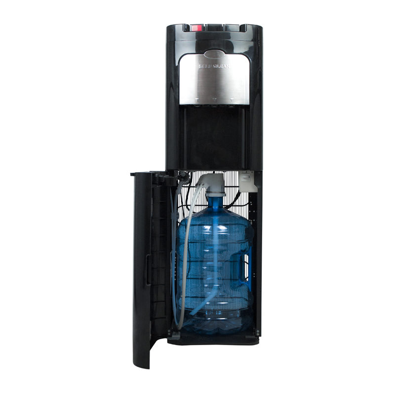 Dispensador de agua con botella interior oculta Naos O3 negro