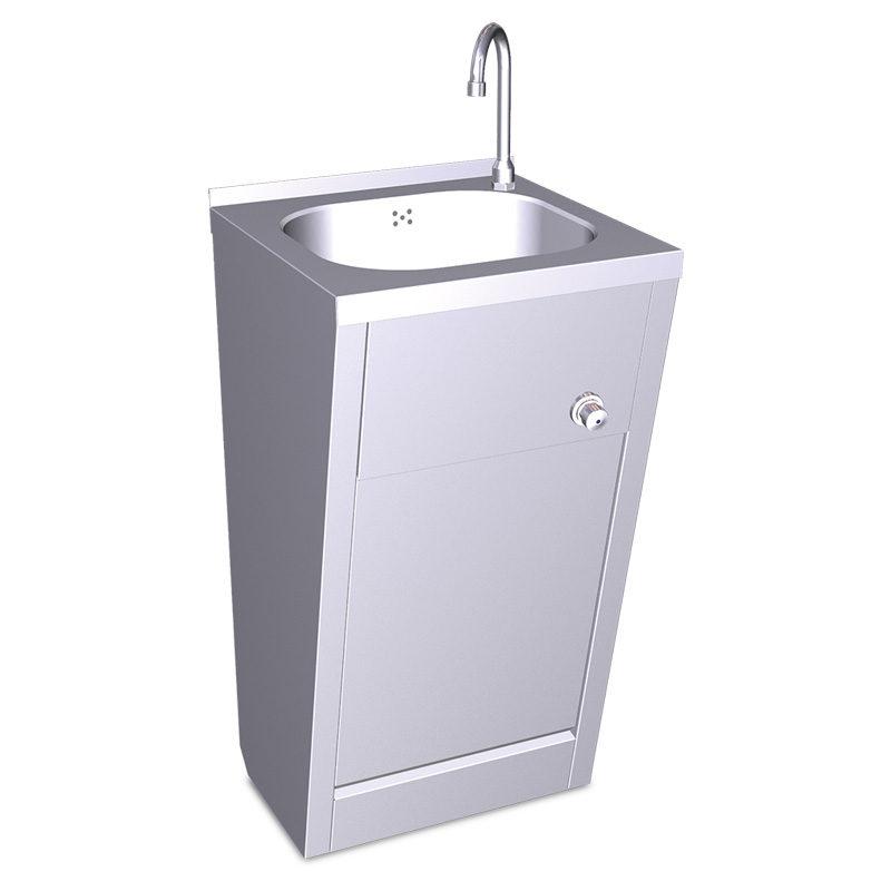 Lavamanos de rodilla Aquaneo para agua fría y caliente