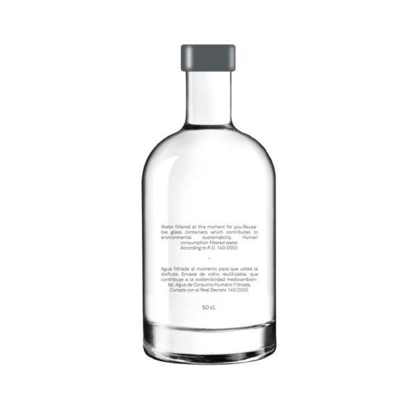 botella cristal Portia