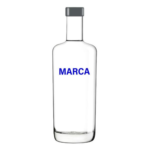 Botella cristal 70cl reutilizable Ursa de Aquaneo Ecoglass - 12 unidades