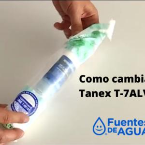 cambiar filtro tanex t7alv