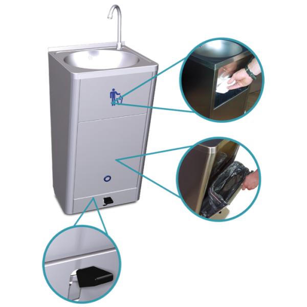 detalles lavamanos autonomo