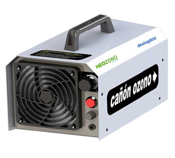 genrador de ozono portatil Desing800