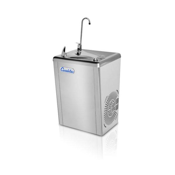 fuente-de-agua-pared-canaletas-serie-4-pulsador-manual