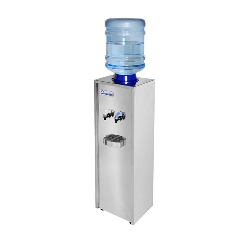dispensador de agua-canaletas-serie 1 acero-inoxidable