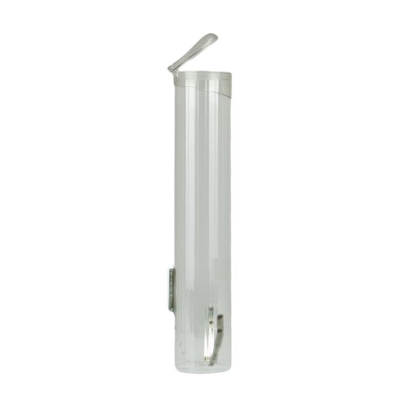 Portavasos transparente para dispensador de agua